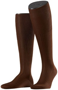 Falke No. 10 Egyptian Karnak Cotton Kniekous Knee-Highs Acacia