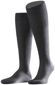 Falke No. 10 Egyptian Karnak Cotton Kniekous Knee-Highs Anthracite Melange