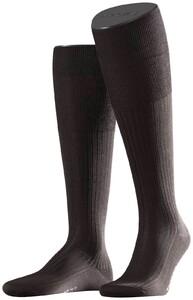 Falke No. 10 Egyptian Karnak Cotton Kniekous Knee-Highs Brown