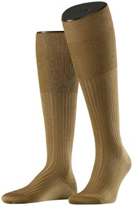 Falke No. 10 Egyptian Karnak Cotton Kniekous Knee-Highs Dark Khaki