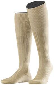 Falke No. 10 Egyptian Karnak Cotton Kniekous Knee-Highs Sand