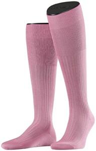 Falke No. 10 Egyptian Karnak Cotton Kniekous Knee-Highs Soft Pink