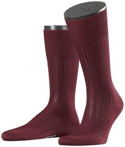 Falke No. 10 Socks Egyptian Karnak Cotton Socks Barolo