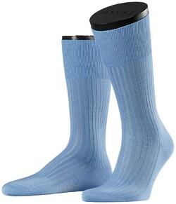 Falke No. 10 Socks Egyptian Karnak Cotton Socks Blue
