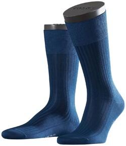 Falke No. 10 Socks Egyptian Karnak Cotton Socks Royal Blue