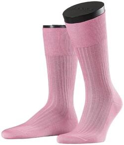 Falke No. 10 Socks Egyptian Karnak Cotton Socks Soft Pink