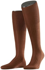 Falke No. 13 Finest Piuma Cotton Knee High Knee-Highs Acacia