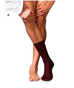 Falke No. 13 Finest Piuma Cotton Socks Barolo