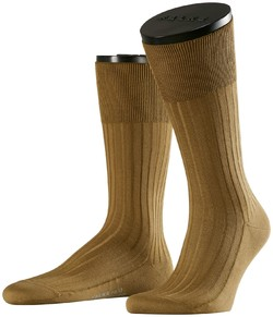 Falke No. 13 Finest Piuma Cotton Socks Dark Khaki