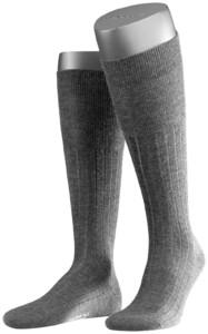 Falke No. 2 Finest Cashmere Kniekousen Knee-Highs Anthracite Grey
