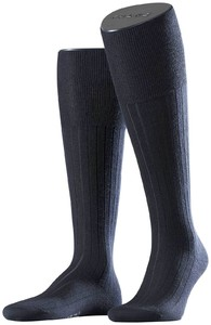 Falke No. 2 Finest Cashmere Kniekousen Knee-Highs Navy