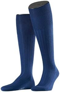 Falke No. 2 Finest Cashmere Kniekousen Knee-Highs Royal Blue