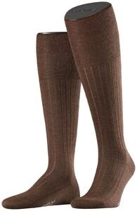 Falke No. 2 Finest Cashmere Kniekousen Knee-Highs Teak Melange