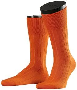 Falke No. 2 Socks Finest Cashmere Socks Fine Orange