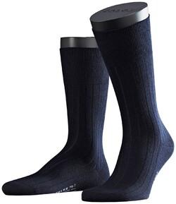Falke No. 2 Socks Finest Cashmere Socks Navy