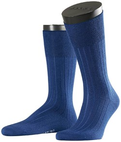 Falke No. 2 Socks Finest Cashmere Socks Royal Blue