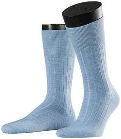 Falke No. 2 Socks Finest Cashmere Socks Sky Blue Melange