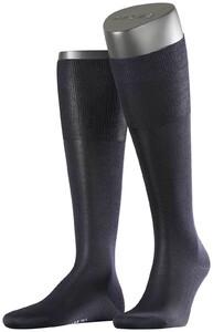 Falke No. 4 Pure Silk Knee High Knee-Highs Navy