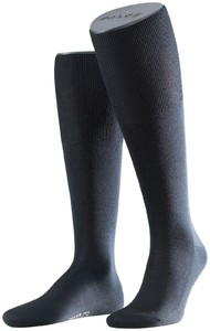 Falke No. 6 Finest Merino and Silk Kniekous Knee-Highs Navy