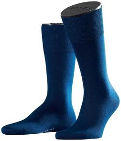 Falke No. 6 Socks Finest Merino and Silk Socks Royal Blue