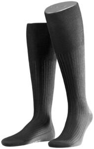 Falke No. 7 Finest Merino Kniekousen Knee-Highs Black