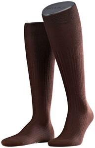 Falke No. 7 Finest Merino Kniekousen Knee-Highs Brown