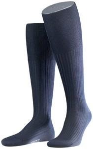 Falke No. 7 Finest Merino Kniekousen Knee-Highs Navy