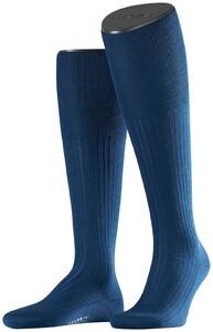 Falke No. 7 Finest Merino Kniekousen Knee-Highs Royal Blue