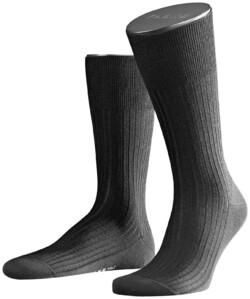 Falke No. 7 Socks Finest Merino Socks Black