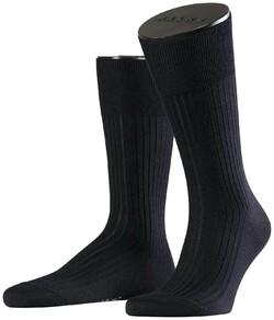 Falke No. 7 Socks Finest Merino Socks Navy