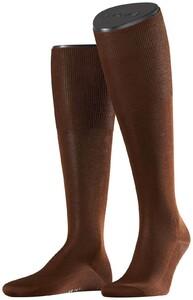 Falke No. 9 Egyptian Karnak Cotton Kniekous Knee-Highs Acacia