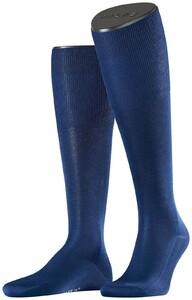 Falke No. 9 Egyptian Karnak Cotton Kniekous Knee-Highs Royal Blue