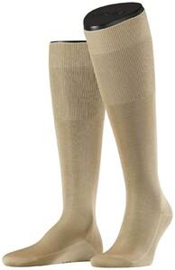 Falke No. 9 Egyptian Karnak Cotton Kniekous Knee-Highs Sand