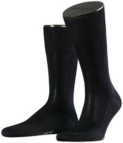 Falke No. 9 Socks Egyptian Karnak Cotton Socks Navy