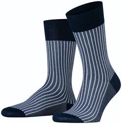 Falke Oxford Stripe Socks Atlantic