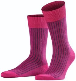 Falke Oxford Stripe Socks Berry