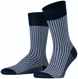 Falke Oxford Stripe Sokken Atlantic