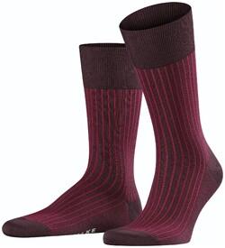 Falke Oxford Stripe Sokken Barolo