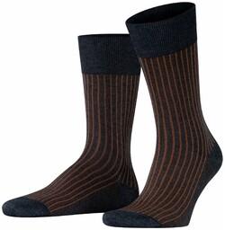 Falke Oxford Stripe Sokken Rock