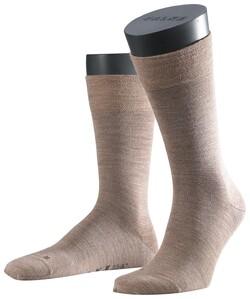 Falke Sensitive Berlin Socks Sokken Donker Zand