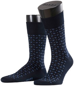 Falke Sensitive Jabot Socks Dark Navy