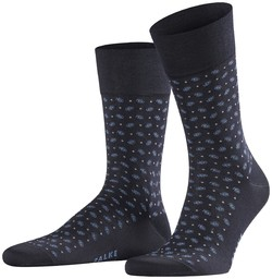 Falke Sensitive Jabot Socks Midnight Navy
