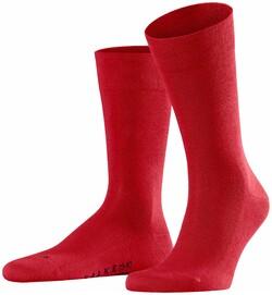 Falke Sensitive London Socks Sokken Scarlet Melange