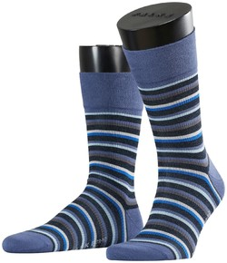 Falke Sensitive Stripe Sock Socks Tuareg