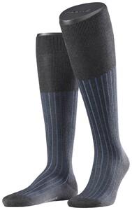 Falke Shadow Kniekousen Knee-Highs Anthracite-Blue