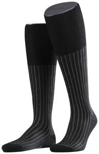 Falke Shadow Kniekousen Knee-Highs Black-Grey