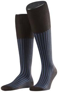 Falke Shadow Kniekousen Knee-Highs Blue-Brown