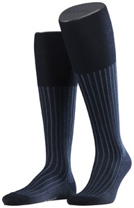 Falke Shadow Kniekousen Knee-Highs Navy Blue