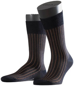 Falke Shadow Sok Socks Navy-Brown