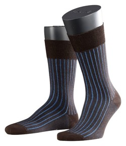 Falke Shadow Sok Sokken Blauw-Bruin